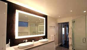 Shining Bathroom Mirrors Led Illuminated Led Bathroom Mirrors