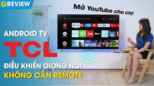 Android TV TCL 4K: chạy Android 9.0, đàm thoại rảnh tay, màn hình tràn viền  (P715) • Điện máy XANH - YouTube