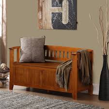 Storage Benches For Living Room Entryway Accent Furniture Brown Beadboard Panel Entryway Storage