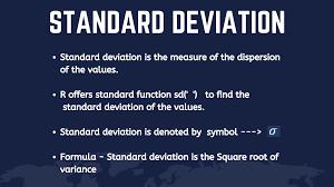 How to Find Standard Deviation in R? - JournalDev