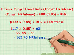 Exercise Heart Rate Chart For Kids 2 Simple Ways To Calculate Your Target Heart Rate Wikihow