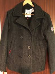 new mens superdry rookie peacoat xl 50