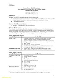 Dental Assistant Job Description Resume Free Download Sample Dental