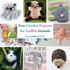Crochet Stuffed Animal Patterns
