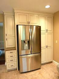 refrigerators that accept cabinet panels kitchen cabinet end panel kitchen side cabinet cabinets refrigerator side panels