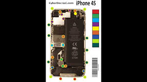 Iphone 4s 4gs Magnetic Screw Chart Mat Magnetized Screwphilic Cyberdoc Usa