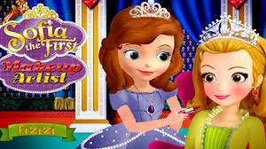 disney princess sofia makeup artist game disney princess game for kids you