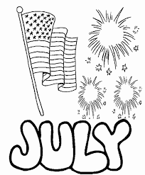 Let's get patriotic and color some red white and blue! 4th Of July Coloring Pages Independence Day Free Printable
