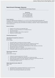 Sample Resume For Bank Jobs Freshers Outstanding Resume Format For