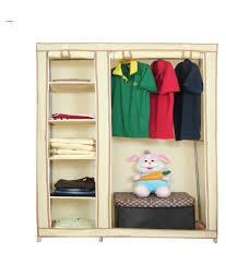 novatic stainless steel fancy n portable storage wardrobe