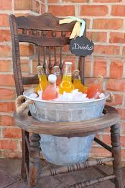 be the only person on the block to have a repurposed chair drink stand