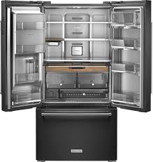 What Is The Depth Of A Counter Depth Refrigerator Kitchenaid 238 Cu Ft French Door Counter Depth Refrigerator