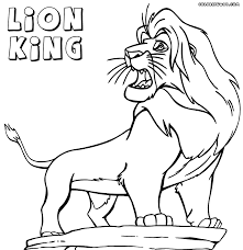 Small Picture Smartness Design Lion King Coloring Pages In Disney 224 Coloring