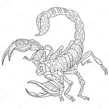 Holiday Coloring Pages » Scorpion Coloring Pages - Free Printable ...