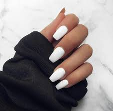 To Finish 32 Extraordinary White Acrylic Nail Designs To Finish Your