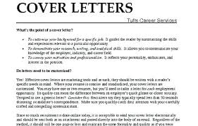 A Good Cover Letter Whats A Good Cover Letters Cover Letter Examples