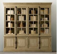 wood bookcase with doors solid bookcases light sliding wo