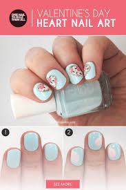 Hearts and Flowers: The Perfect Valentine's Day Nail Art | more.com