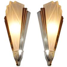 art deco wall sconces art deco sconces from degue from a unique collection of antique and modern wall lights