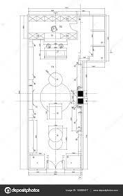 office furniture plans. Standard Office Furniture Symbols On Floor Plans \u2014 Stock Vector
