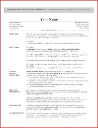 Elementary Teacher Resume Sample Elegant Resumes for Teachers cobble usa 35