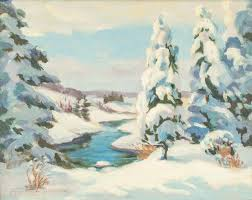 Sold Price: Agnes Sinclair English-Canadian 1881-1952 Oil Snow - March 4,  0118 2:00 PM EDT