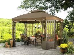 full size of paradise 3 light solar gazebo chandelier black outdoor home depot hampton bay landscape