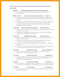 Self Employed Resume Employment Self Employed Handyman Resume Sample