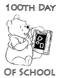 Small Picture Trend 100th Day Of School Coloring Page 49 For Your Coloring Books