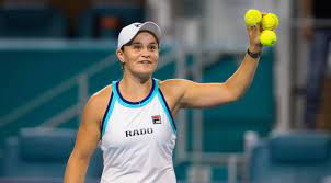 Ashleigh Barty, No. 1 in the ranking ...