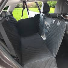 2021 dog car seat cover view mesh