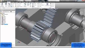 Speed Reduction Gearbox Design Design A Gear Reducer With Inventor 2013 Part 6