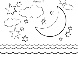 Free Printable 7 Days Of Creation Coloring Pages Bible Kids Will