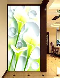 wall painting luxury best silk calla flower large murals home decoration art 3d paintings pictures for