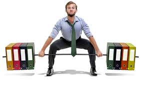 desk exercise strengthen your abs while sitting