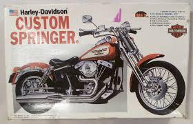 harley davidson custom springer 1 12 scale motorcycle model kit