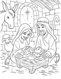1) if you have javascript enabled you can click the print link in the top half of the page and it will automatically print the coloring page only and ignore the advertising and navigation at the top of the page. Coloring Page Baby Jesus Coloring Page Pages Sheet Pagestable Coloring Home