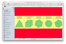 How To Draw A Geometrical Chart How To Draw Geometric Shapes In Conceptdraw Pro