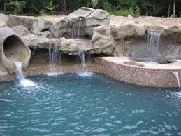 Creating A Backyard Oasis Swimming Pool Waterfalls