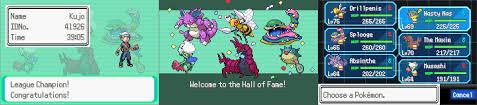 Theta Emerald Renev with u/ABZB's ROM Rebalancer and a Poison Monotype Team  : PokemonHallOfFame