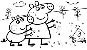 peppa pig coloring sheets packed with pig coloring page pig printable coloring pages awesome pig coloring