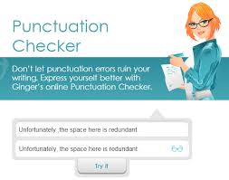 best online punctuation checker tools correctors ginger punctuation checker