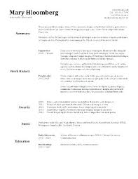 Open Office Resume Template Free Fascinating Curriculum Vitae Templates Open Office Resume For Simple Template