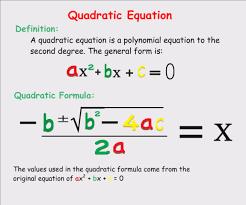 quadratic formula calculator solver