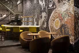 ... Restaurant Wall Decor Ideas Lovely Ramen Cool Ramen Restaurant In  Vietnam Integrating A Mosaic Wall Decor ...