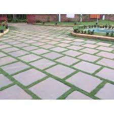 yellow rectangular outdoor paver tile for pavement