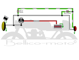 simple motorcycle wiring diagram simple image bellico moto u003e wiring diagrams on simple motorcycle wiring diagram