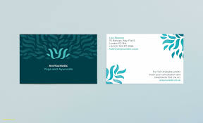 65 Free Yoga Business Cards Templates Free About Success Resume