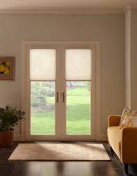 Cell Shades on French Doors