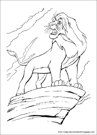 Small Picture Lion King Coloring Educational Fun Kids Coloring Pages and